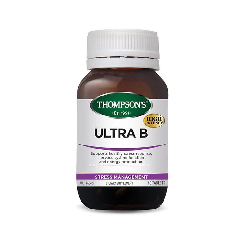 Thompson's Ultra B 60 Tablets