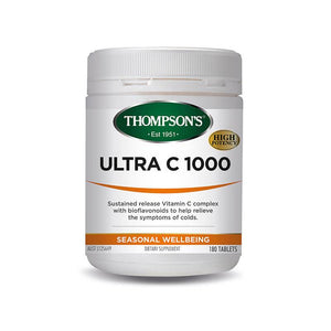Thompson's Ultra C 1000 180 Tablets