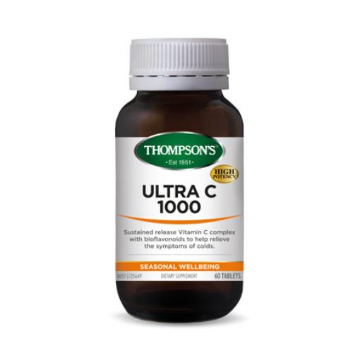 Thompson's Ultra C 1000mg 60 Tablets