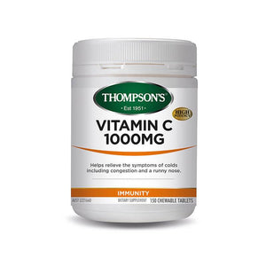 Thompson's Vitamin C 1000mg 150 Chewable Tablets