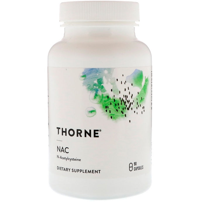Thorne Research, NAC (N-Acetyl-L-Cysteine), 90 Capsules