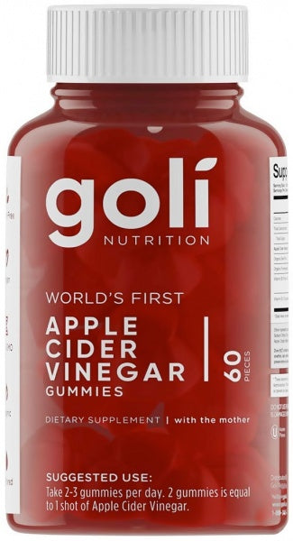 Goli Nutrition Inc Goli Apple Cider Vinegar Gummies 60 pack