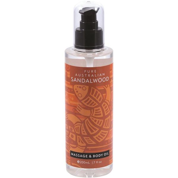 Mount Romance, Sandalwood Massage & Body Oil, 200ml