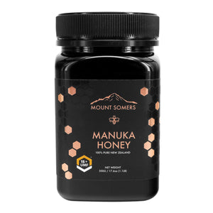 Mount Somers, Manuka Honey Umf, 15+, 500g