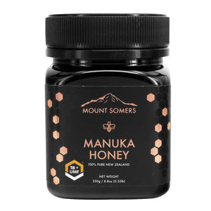 Mount Somers, Manuka Honey Umf, 18+, 250g