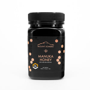 Mount Somers, Manuka Honey Umf, 18+, 500g