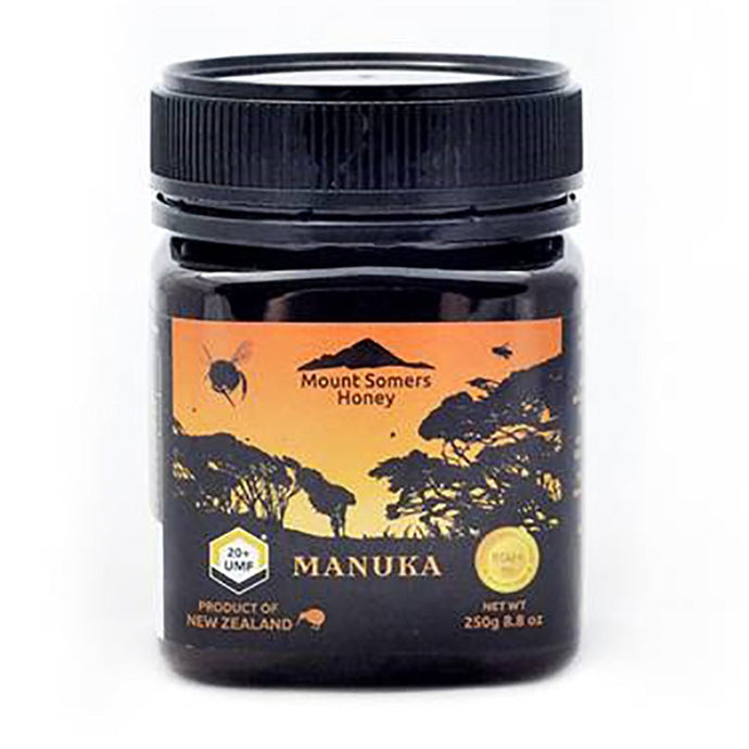 Mount Somers, Manuka Honey Umf, 20+, 250g