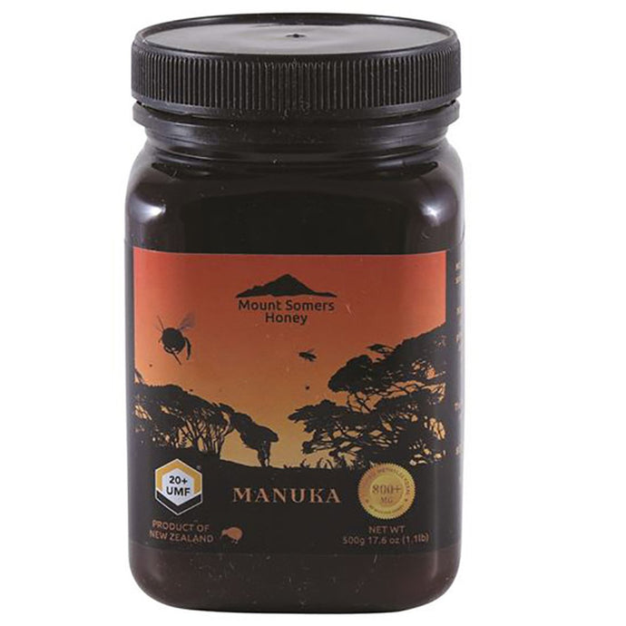 Mount Somers, Manuka Honey Umf, 20+, 500g