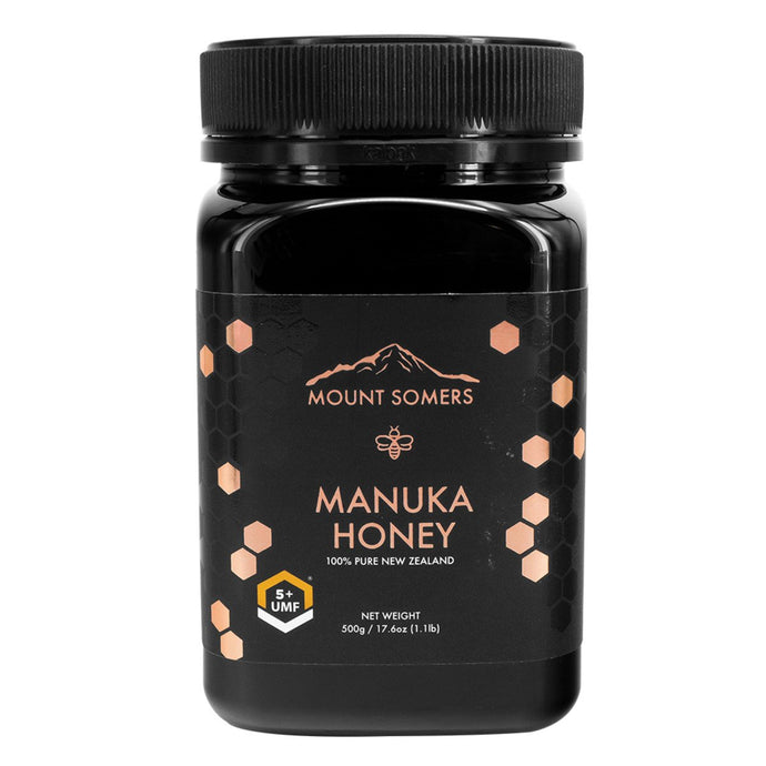 Mount Somers, Manuka Honey Umf, 5+, 500g
