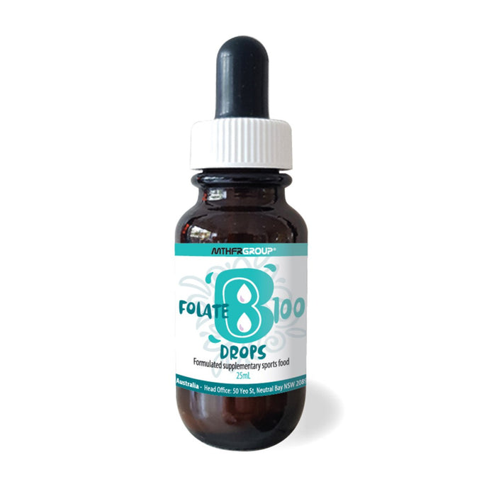 Mthfr Group, Folate B, 100Mcg (Methyl) Drops, 25ml