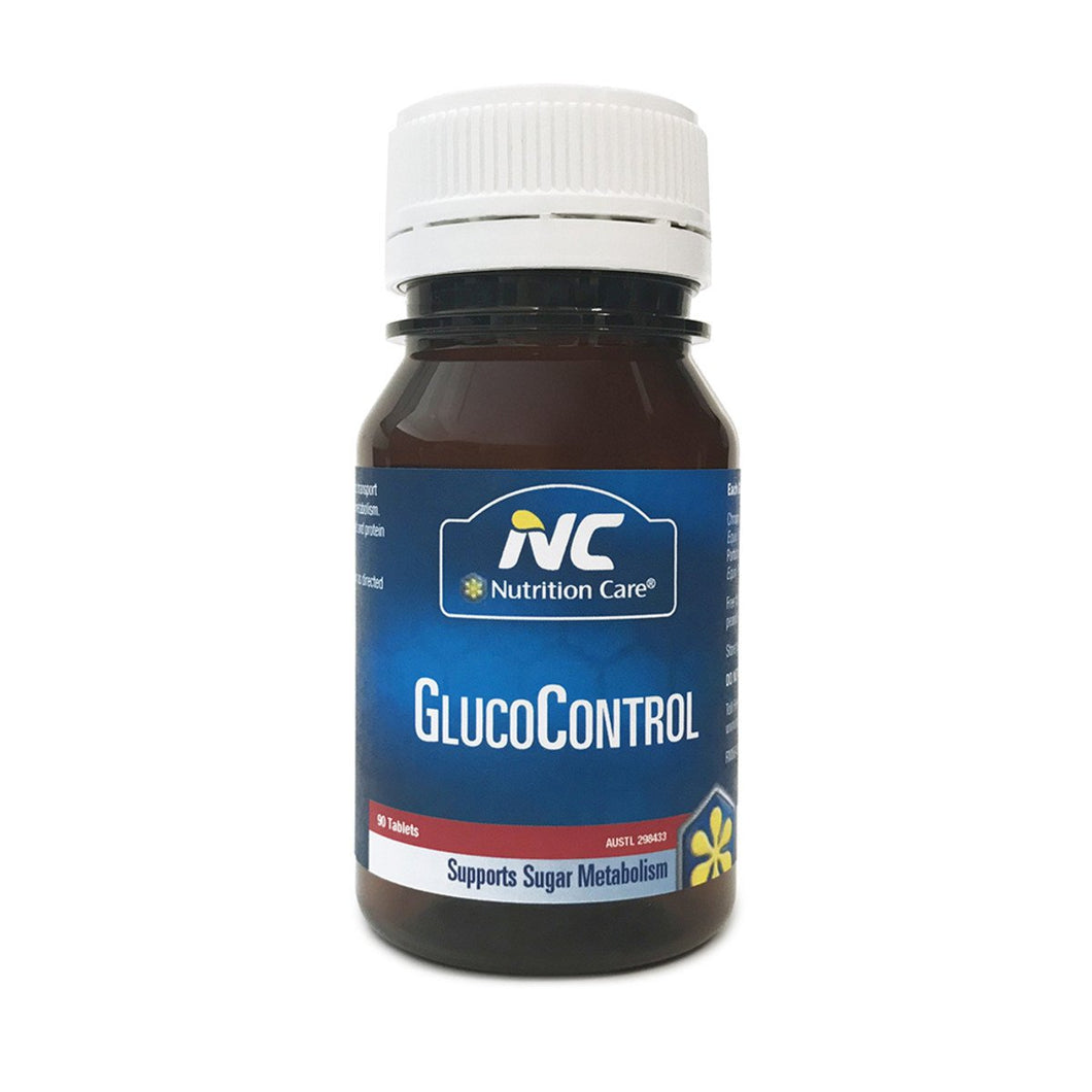 Nc By Nutrition Care, Glucocontrol, 90 Tablets