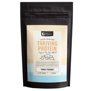 Nutra Organics, Thriving Protein Classic Cacao Choc (Organic Pea Rice Blend), 1Kg