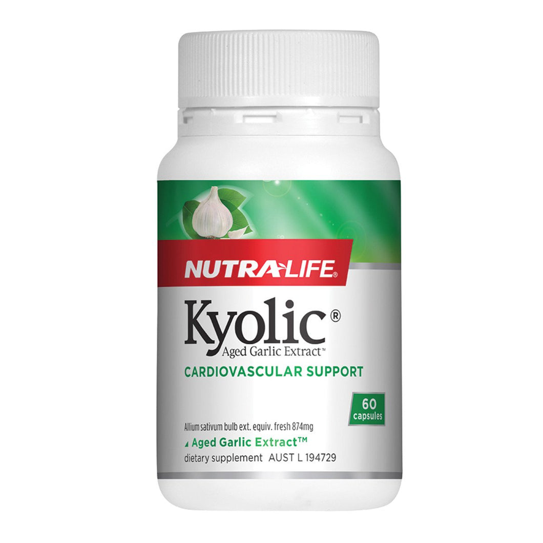 Nutralife, Kyolic Aged Garlic Extract High Potency, 60 Capsules