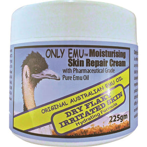 Only Emu, Moisturising Skin Repair Cream, 225g