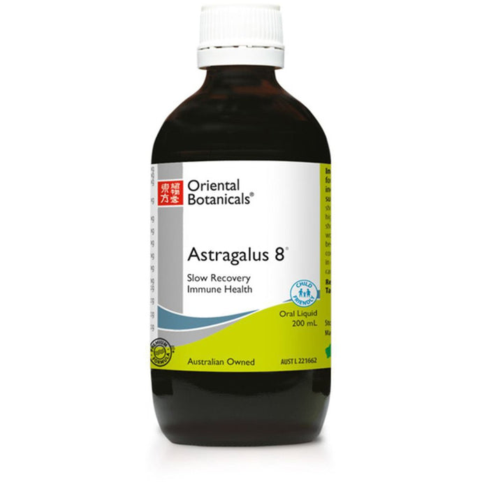 Oriental Botanicals, Astragalus, 8 Combination, 200ml