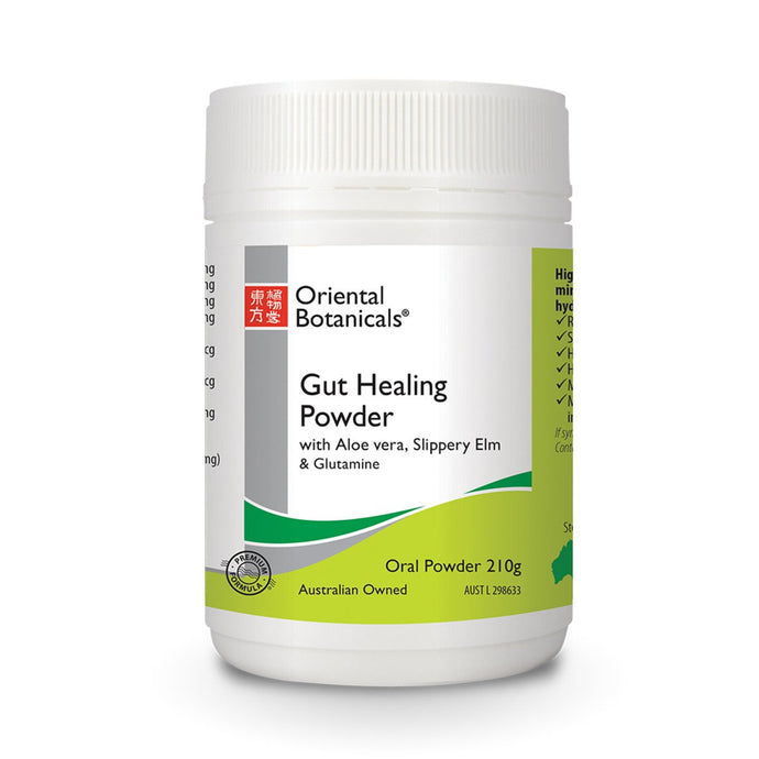 Oriental Botanicals, Gut Healing Powder, 210g