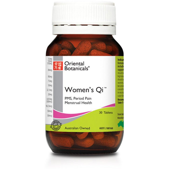 Oriental Botanicals, Women'S Qi, 30 Tablets