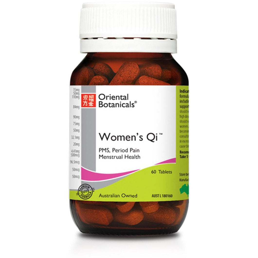 Oriental Botanicals, Women'S Qi, 60 Tablets