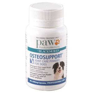 Paw Osteosupport Joint Care Dogs, 80 Capsules