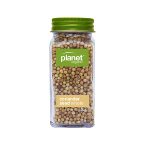 Planet Organic, Coriander Seeds Whole Shaker, 25g