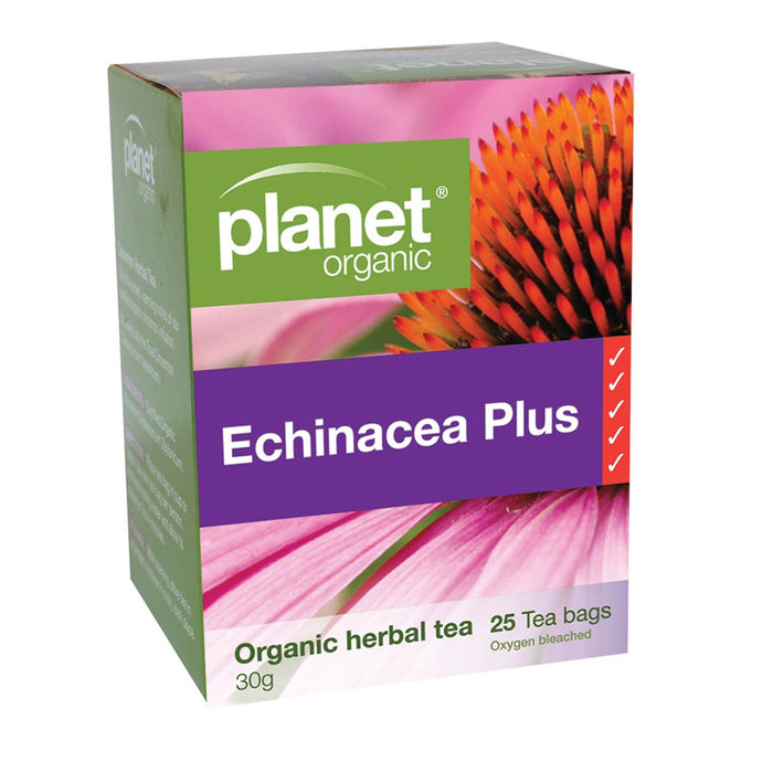 Planet Organic, Echinacea Herbal Tea x 25 Tea Bags