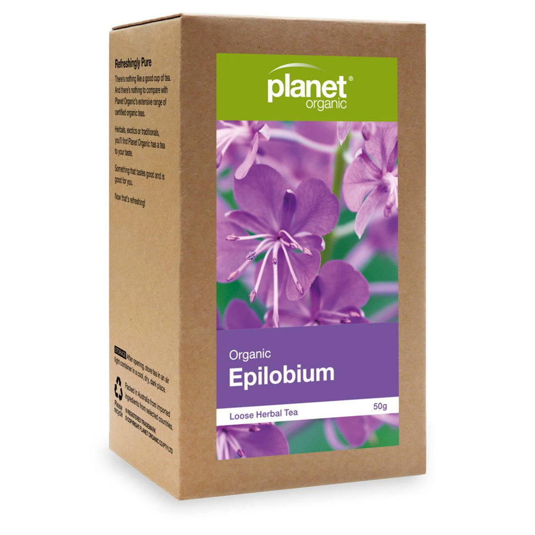Planet Organic, Organicepilobium Loose Leaf Tea, 50g