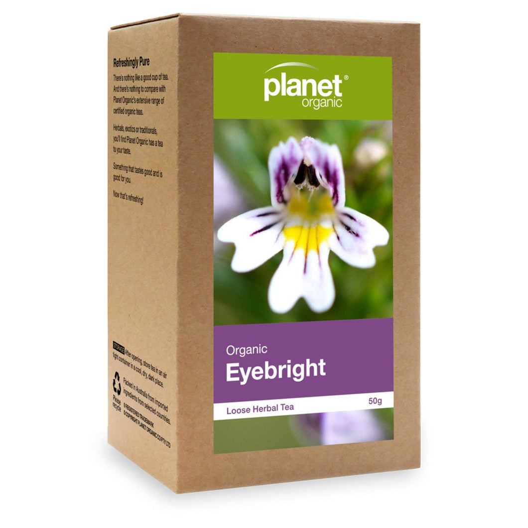 Planet Organic, Organiceyebright Loose Leaf Tea, 50g