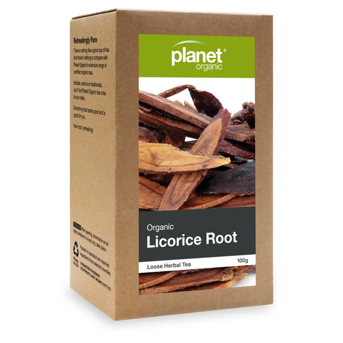 Planet Organic, Organic Licorice Root Loose Leaf Tea, 100g