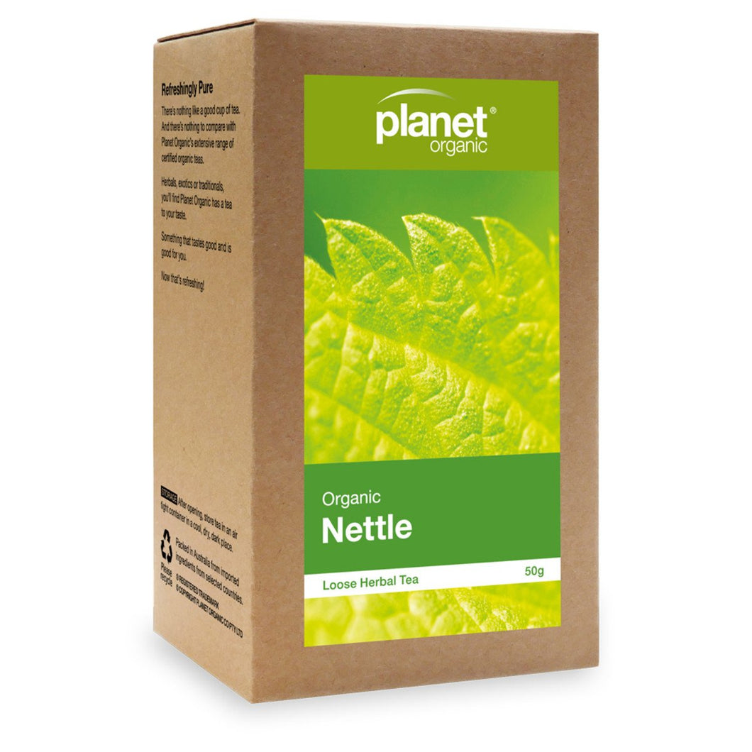 Planet Organic, Organicnettle Loose Leaf Tea, 50g