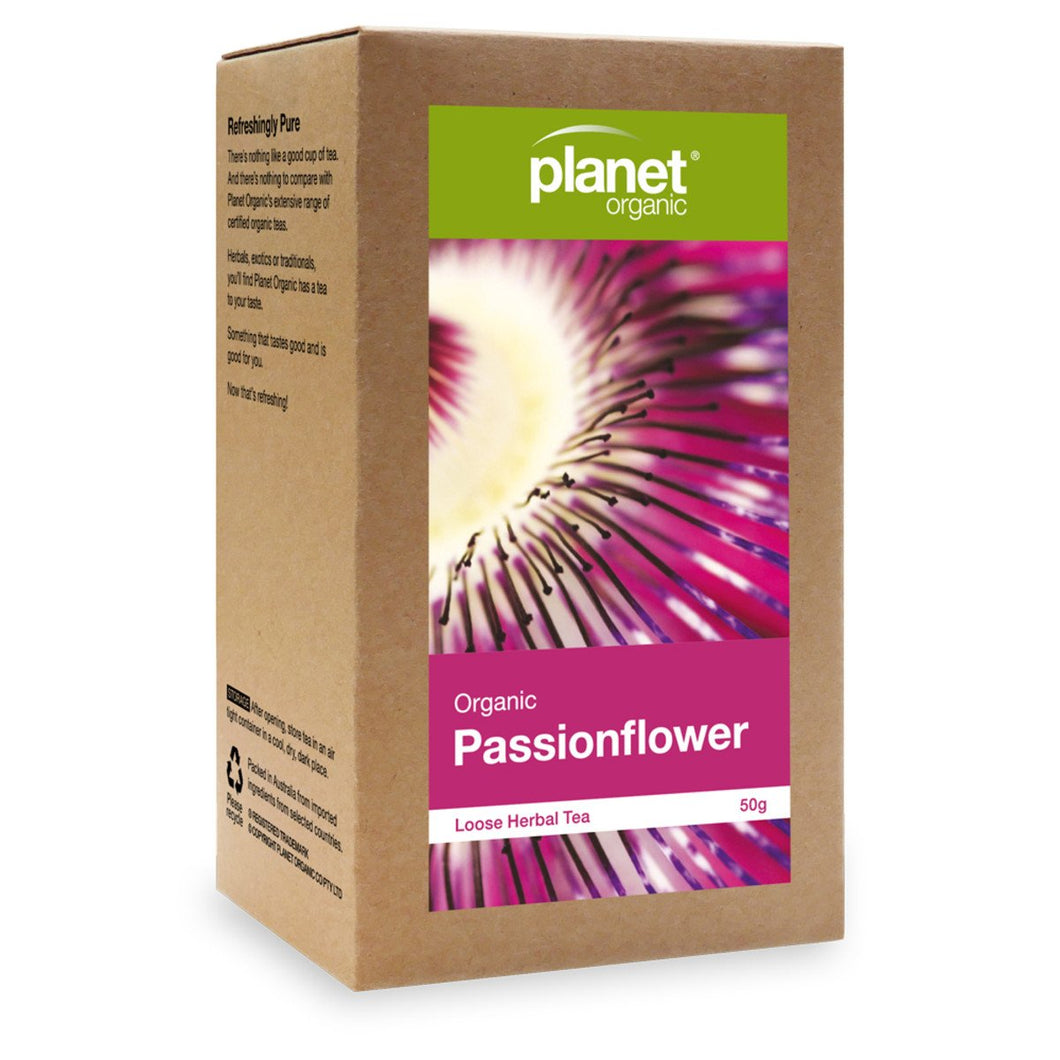 Planet Organic, Organicpassionflower Loose Leaf Tea, 50g