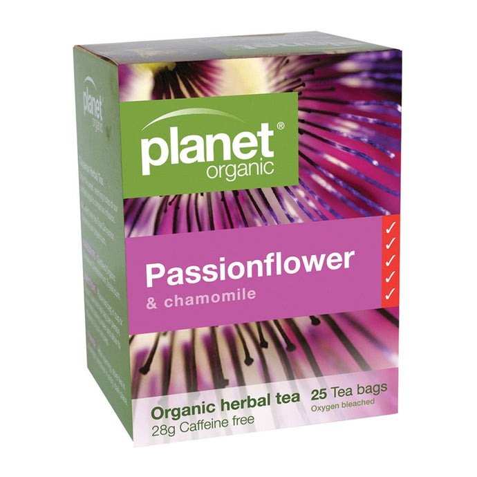 Planet Organic, Passionflower Herbal Tea x 25 Tea Bags