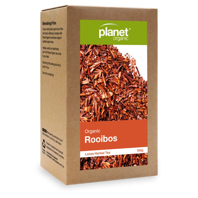 Planet Organic, Rooibos Loose Leaf Tea, 100g