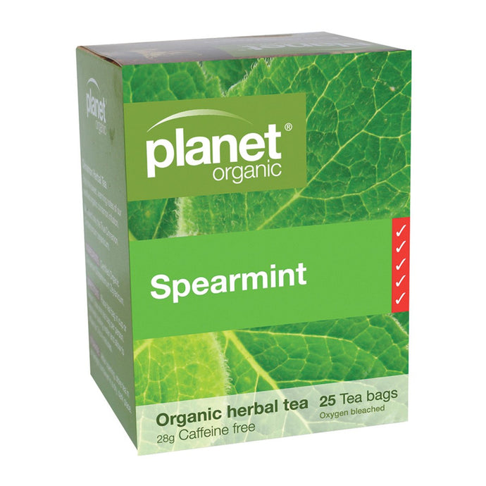 Planet Organic, Spearmint Herbal Tea x 25 Tea Bags