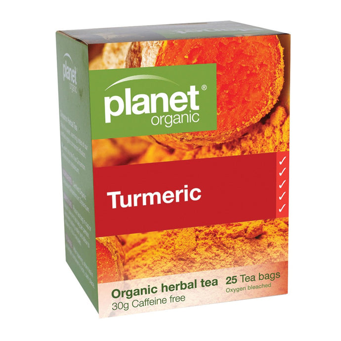 Planet Organic, Turmeric Herbal Tea x 25 Tea Bags