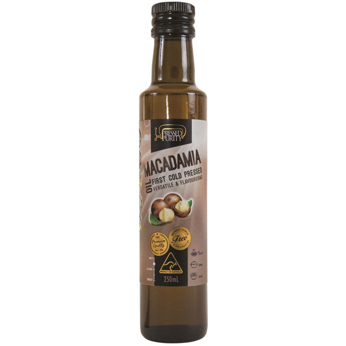 Pressed Purity, Macadamia Oil, 250ml