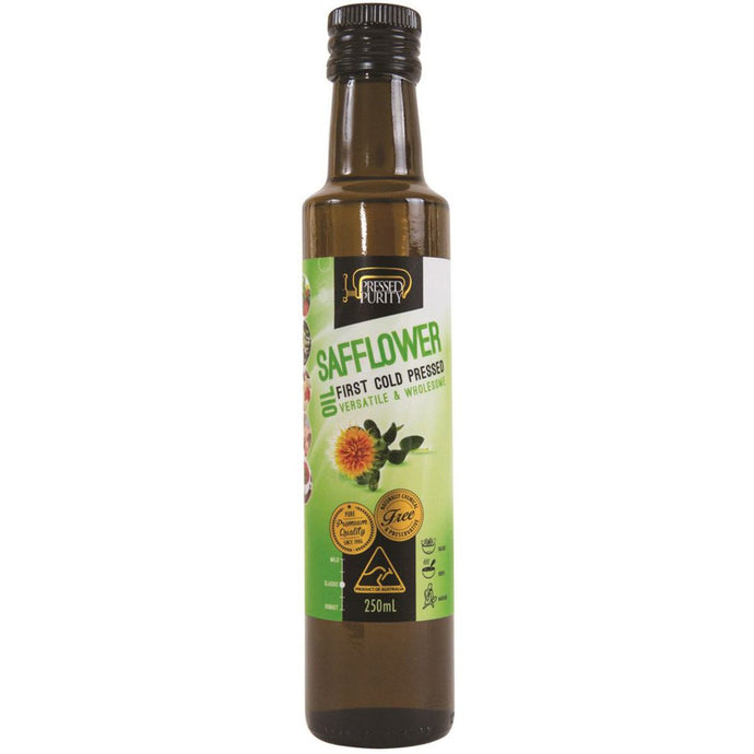 Pressed Purity, Safflower Oil, 250ml