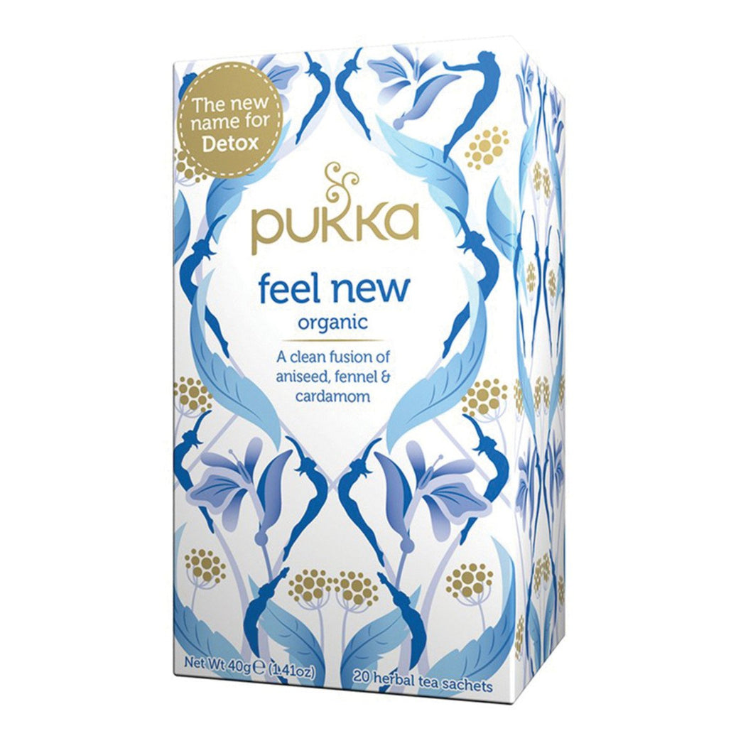 Pukka,feel New x 20 Tea Bags