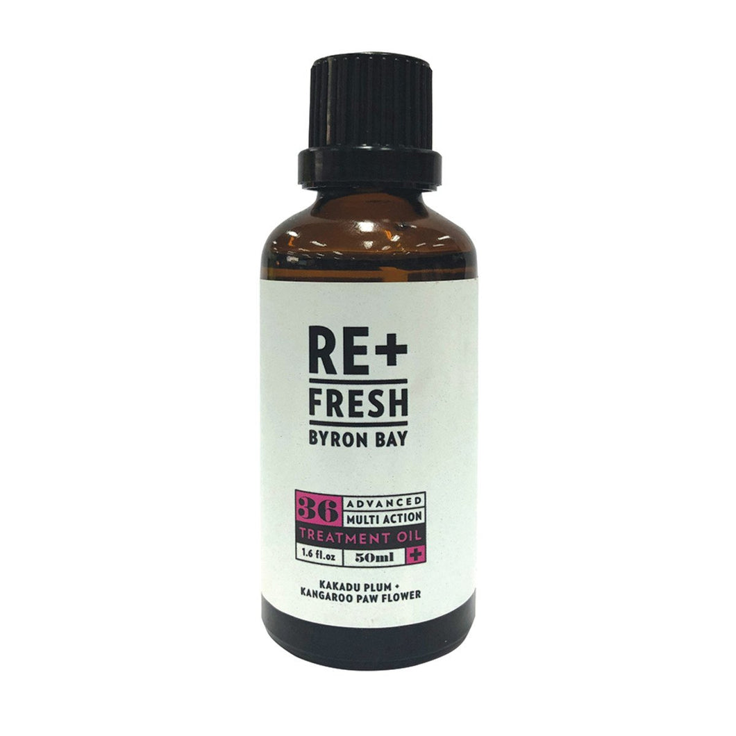 Re+Fresh Byron Bay, Advanced Multiaction Treatment Oil (With Kakadu Plum & Kangaroo Paw Flower), 50ml