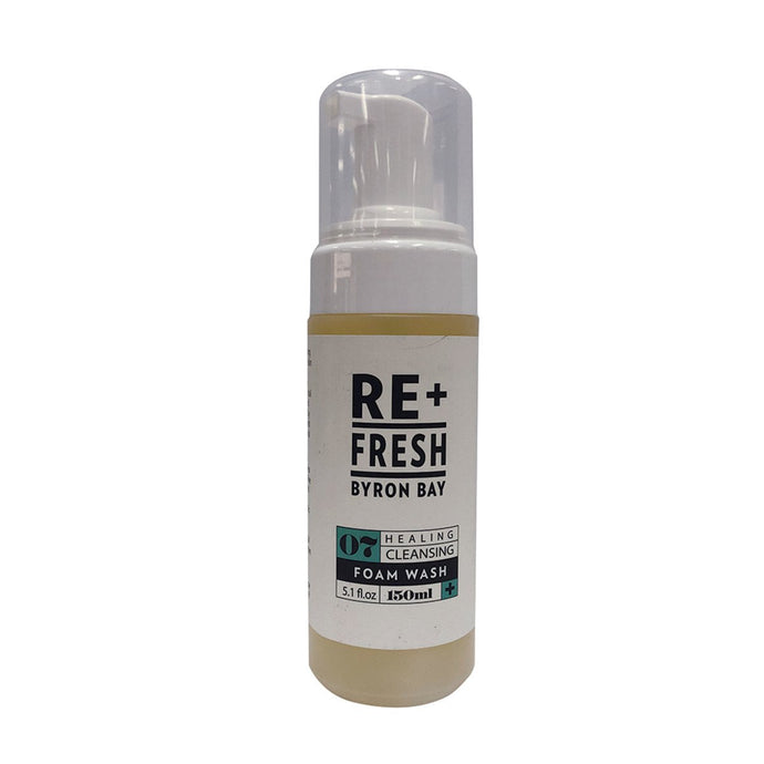 Re+Fresh Byron Bay, Healing Cleansing Foam Wash (With Lemon Myrtle & Macadamia Oil), 150ml
