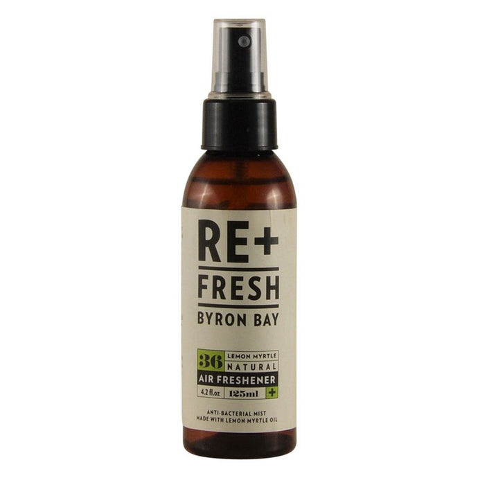 Re+Fresh Byron Bay, Lemon Myrtle Natural Air Freshener, 125ml