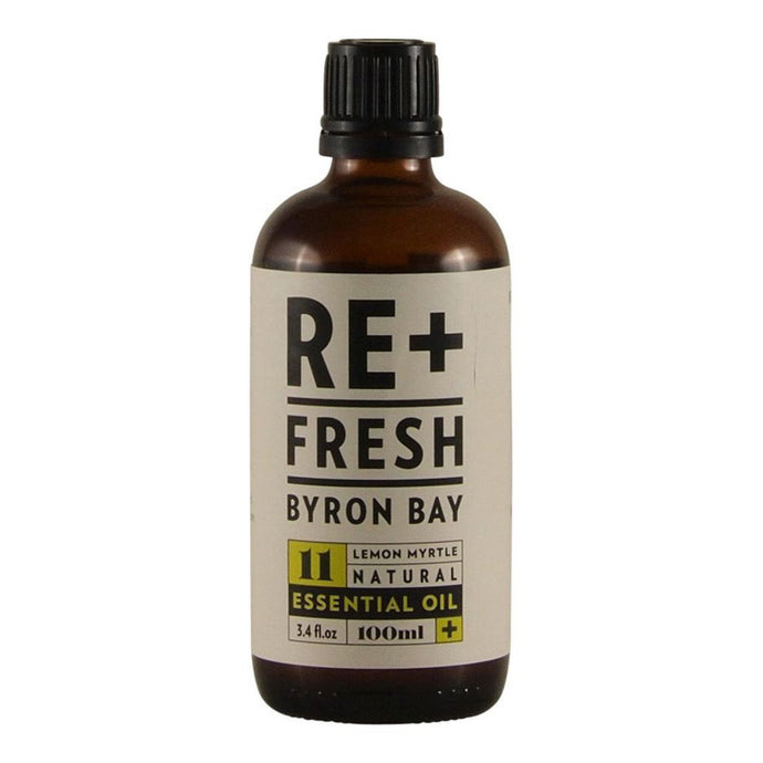 Re+Fresh Byron Bay, Lemon Myrtle Natural Essential Oil, 100ml