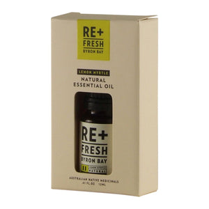 Re+Fresh Byron Bay, Lemon Myrtle Natural Essential Oil, 12ml Boxed