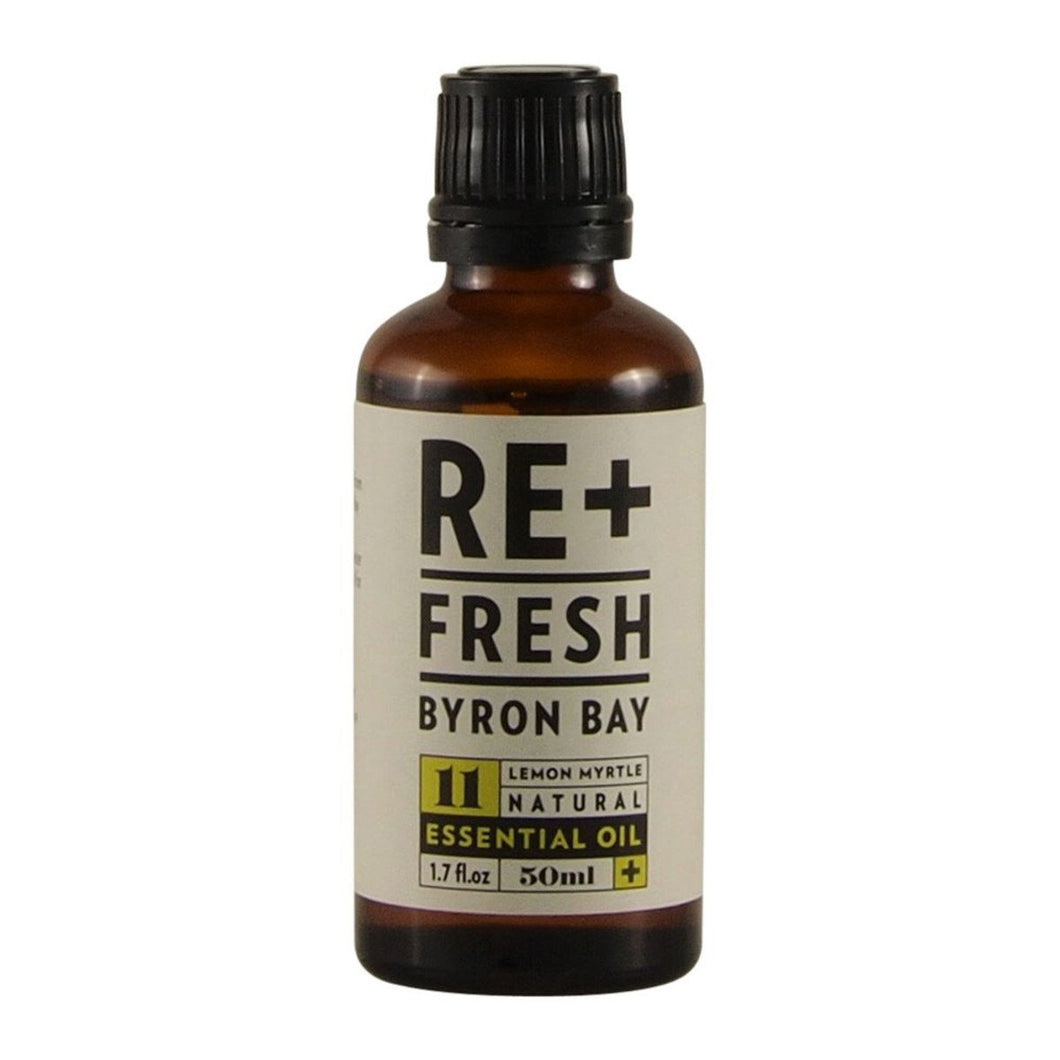 Re+Fresh Byron Bay, Lemon Myrtle Natural Essential Oil, 50ml