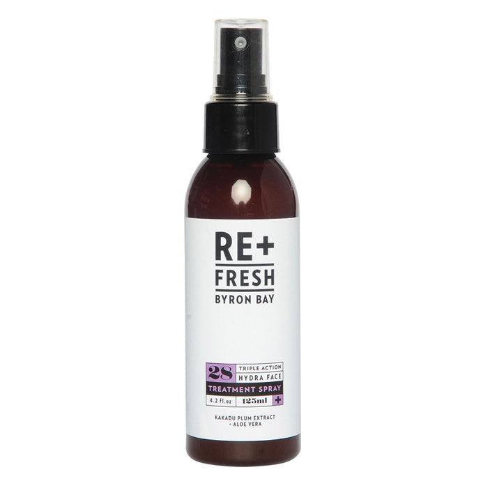 Re+Fresh Byron Bay, Triple Action Hydra Face Treatment Spray (Kakadu Plum Extract & Aloe Vera), 125ml