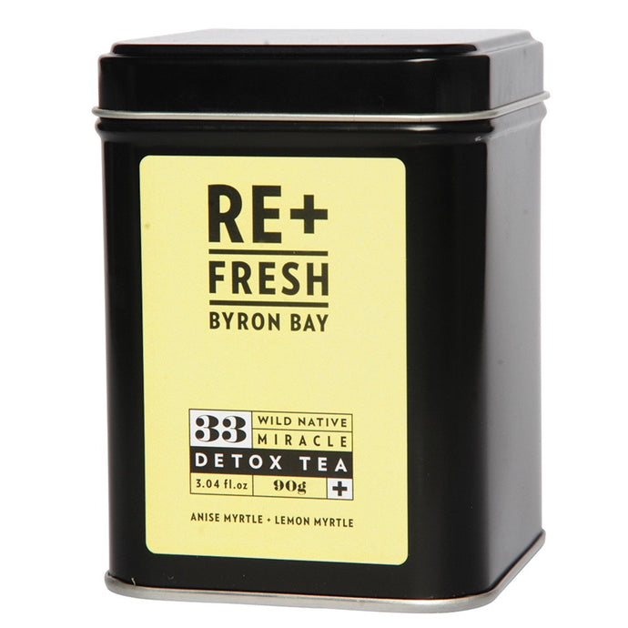 Re+Fresh Byron Bay, Wild Native Miracle Detox Tea (With Anise Myrtel & Lemon Myrtle), 90g