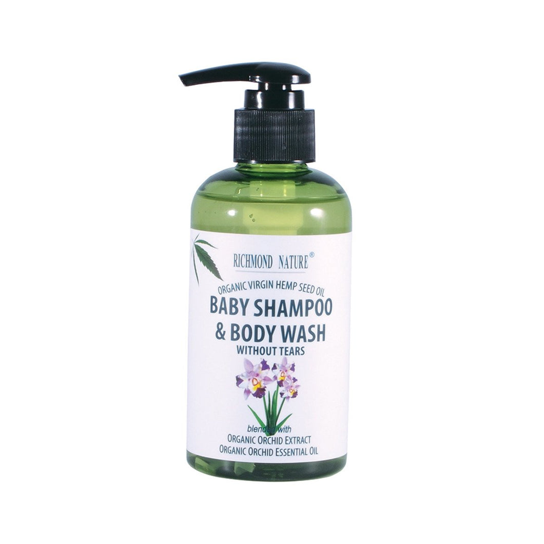 Richmond Nature, Baby Shampoo And Body Wash, 200ml