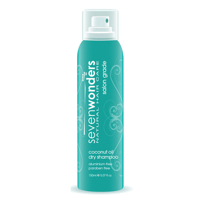 Seven Wonders, Natural Hair Care Coconut Oil Dry Shampoo Spray, 150ml
