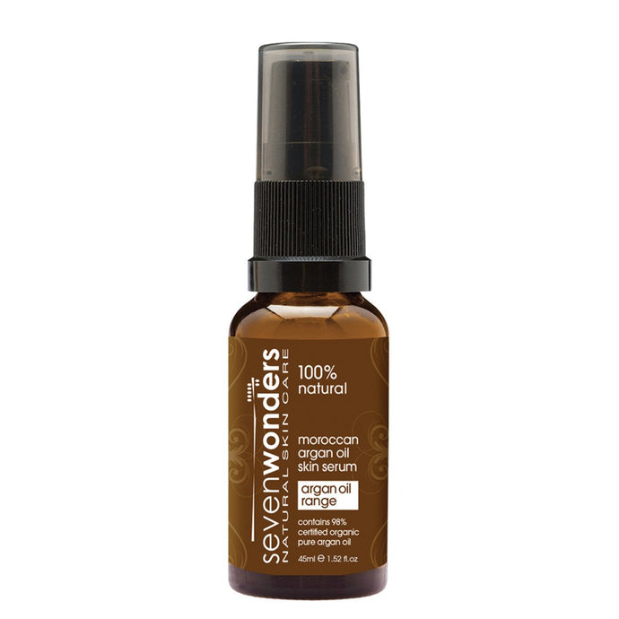 Seven Wonders, Natural Skin Care Moroccan Argan Oil Skin Serum, 45ml
