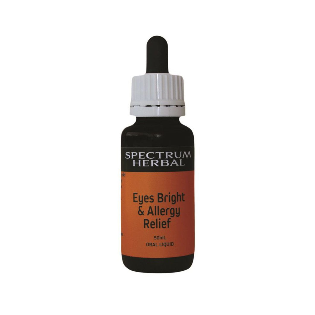 Spectrum Herbal, Eyes Bright & Allergy Relief, 50ml