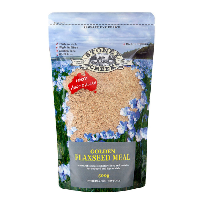 Stoney Creek, Flaxseed Meal Golden, 500g